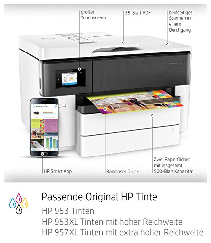 HP OfficeJet Pro 7740 A3 Drucker - 2