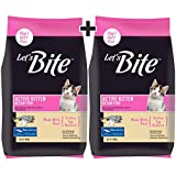 Let's Bite Active Kitten(1-12 Months) Dry Cat Food, Ocean Fish, 400 gm (Buy 1 GET 1 Free)