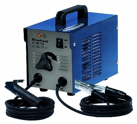 Einhell Elektroden Schweissgerät BT-EW 150 (80 A, 230 V, inkl. Masseklemme, Elektrodenhalter, Tragegriff, Thermowächter mit Kontrollleuchte)