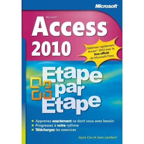 Access 2010 - Etape par Etape