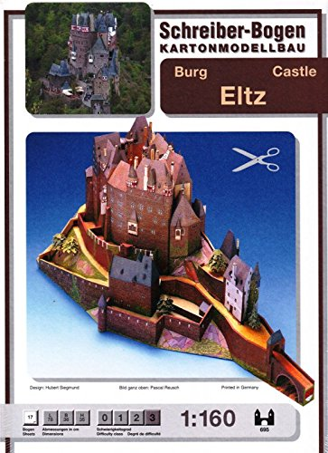 Aue Verlag 78 x 36 x 35 cm Burg Eltz Germany Model Kit