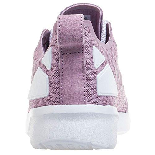 adidas ZX Flux ADV Verve, Baskets Basses Femme, 40 EU Violet (Blanch Purple/Blanch Purple/Core White)