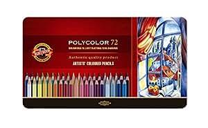 KOH-I-NOOR Polycolor Künstler-Farbstifte (72 Stück)