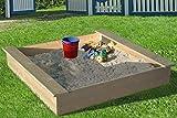 LoggyLand Sandbox da Naturale Legno Massello - Diverse Misure - 180x180cm