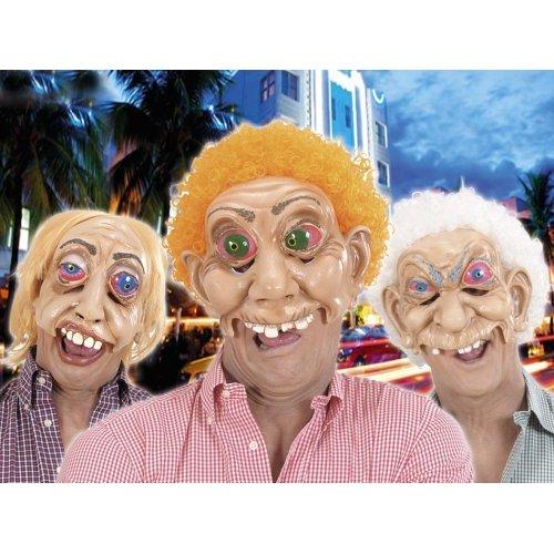rdo Masken mit Perücke für Haarschmuck Fasching ()