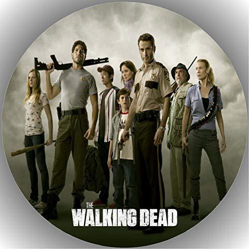 Fondant Tortenaufleger Tortenbild Geburtstag The Walking Dead T7
