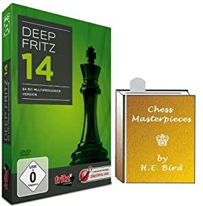 Deep Fritz 14 Chess Software Program & ChessCentral's Chess Masterpieces E-book (2 item Bundle)