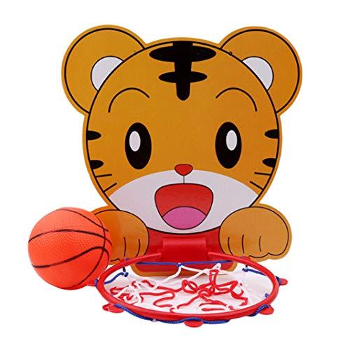 Sperrins Indoor Einstellbare Hängende Basketball Netball Hoop Tragbare Mini Basketball Box Mit Ball Kinder Kinder Spiel (Color1)