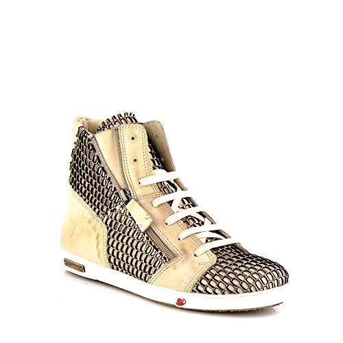 Felmini - Scarpe Donna - Innamorarsi com Jomar A217 - Sneakers - Pelle Genuina - Multicolore - 38 EU Size