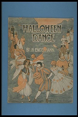 308045 Halloween Dance 1908 A4 Photo Poster Print 10x8