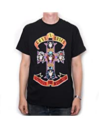 Guns N Roses T Shirt - Appetite For Destruction 100% Official