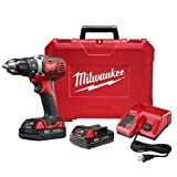"""Best Milwaukee Cordless Drills - Milwaukee Milwaee 2606-22CT M18 1/2"""" Drill Driver CP Review"""