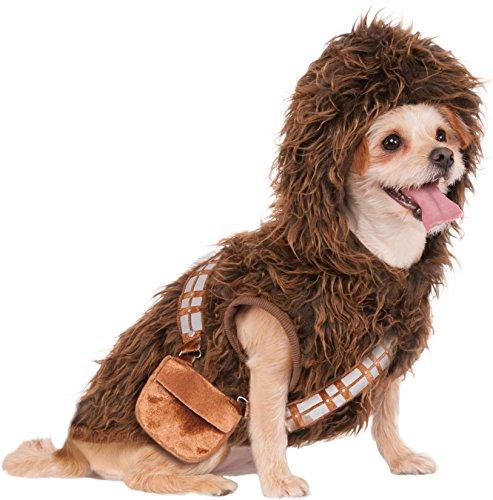 Wars Chewbacca Hoodie Pet Kostüm, Mittel (Elvis-hund Halloween-kostüme)