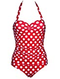 Zantec Damen Bikini-Set Gr. XXL, Rot mit weißen Punkten