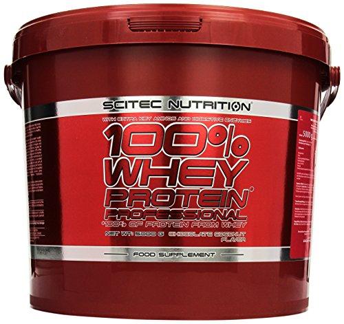 Perfect Whey Protein (Scitec Nutrition Protein 100% Whey Protein Professional, Schokolade-Kokosnuss, 5000g)