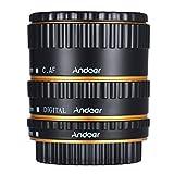 Andoer TTL autofocus AF Macro anneau de tube de prolongation en m¨¦tal pour Canon EOS EF EF-S 60D...