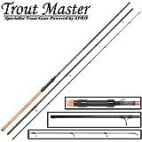 Trout Master Tactical Sbiro 3,90m 3-25g - Forellenrute für Bombarden & Sbirolinos, Sbirolinorute zum Forellenangeln, Angelrute