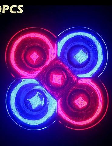 HJLHYL10Pcs Full Spectrum 10W E27/GU10 3Red+2Blue LED Grow lights for Flower plant Hydroponics System , gu10