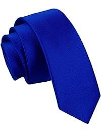 Neuf DQT Uni Satinée Haute Qualité Classique Élégant Homme Mariage Fashion  Tenue d affaire 5cm 0f4ae8e52a5