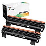 TN1050 Tonerkartuschen, 7Magic Toner Brother TN1050 TN 1050 Kompatible Ersatz für Brother HL-1112 HL-1110 HL-1210W HL-1212W MFC-1910W MFC-1810 DCP-1610W DCP-1612W DCP-1510 DCP-1512 Drucker(2 Pakets Schwarz)