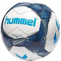 Hummel Premier Ultra Light FB de Balonmano, Color Weiß/Vitange Indigo/Turquoise, tamaño 3
