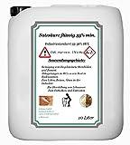 Acide chlorhydrique 33% min. L'Industrie Ware 33–36% HCL 10litres