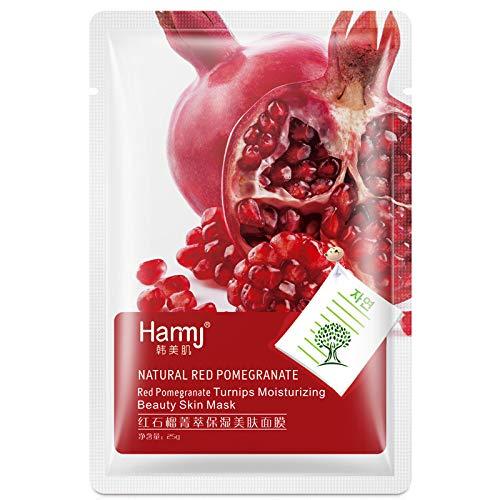 1 PCS Masque Purifiant Pores Pour L'Huile Et L'Acné For Oily DéToxifiant, Antivieillissement Et ThéRapeutique Pas Cher (Rouge)