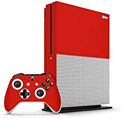 GADGETS WRAP Xbox One S Red Matte Skin for Console & Controller