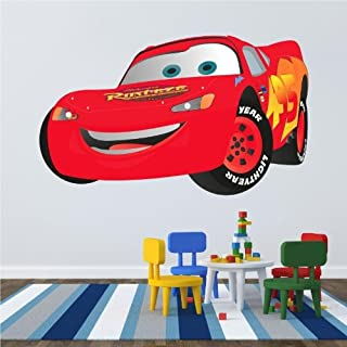 Wandtattoos a colori ''Saetta Mcqueen - Cars'' Vinyl Wall Stickers Decals