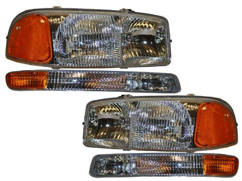 gmc-yukon-sierra-4-piece-headlights-set-w-park-signal-lights-by-headlights-depot