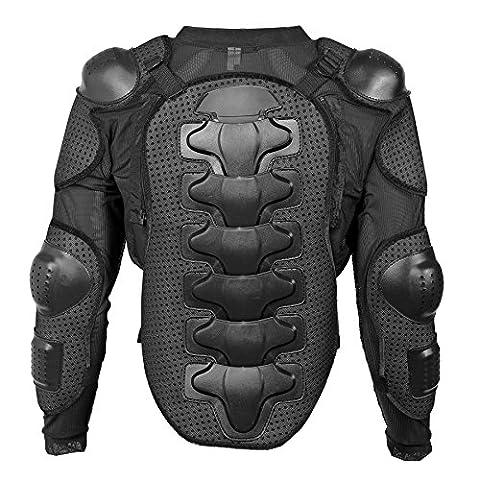 Fincci de vélo VTT moto de motard veste ski Sport Full Body pour femme Armour avec protection arrière amovible