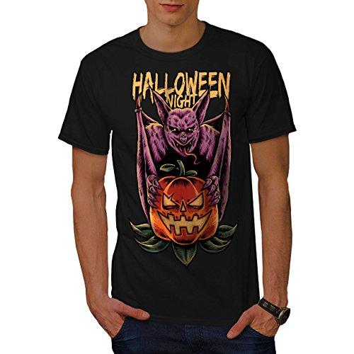 Wellcoda Halloween Kürbis Kopf Männer 5XL T-Shirt (Kürbis-kopf T-shirt)