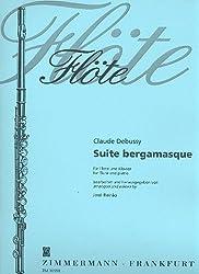 Suite Bergamasque: Flöte Und Klavier.