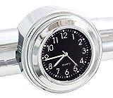 ICTRONIX 7/8' -1 Motorraduhr Uhr Uhren für Halley Motorrad Motorräder Lenkeruhr Universal