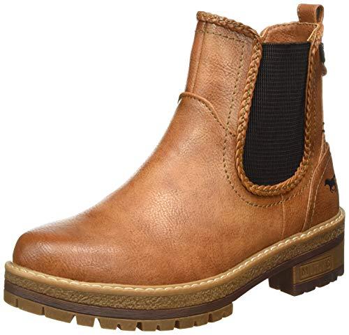 MUSTANG Damen 1344-601-307 Chelsea Boots, Braun (Cognac 307), 36 EU