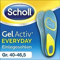 Scholl GelActiv Einlegesohlen Everyday, Größe 40-46,5, 1 Paar preisvergleich bei billige-tabletten.eu