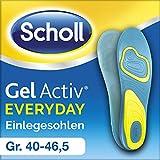 Scholl GelActiv Einlegesohlen Everyday - Verbesserter Komfort durch die doppelte Polsterung - 1 Paar, passend für Schuhgröße 40-46,5