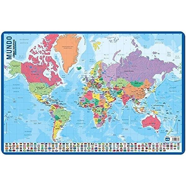 /Lamina educativa con motivo mappa Spagna Grupo Erik Editores lpe266/