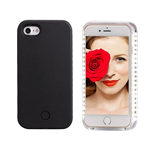 selfie-light-iphone-case-illuminated-cell-phone-case-for-iphone-7-7-plus-iphone-7-plus-black