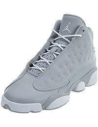 Nike Zapatillas Air Jordan Retro XIII Wheat de Hombre EN Piel Blanca 439358-018