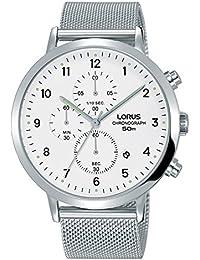 LORUS Orologio Cronografo Quarzo Uomo con Cinturino in Acciaio Inox RM313EX9