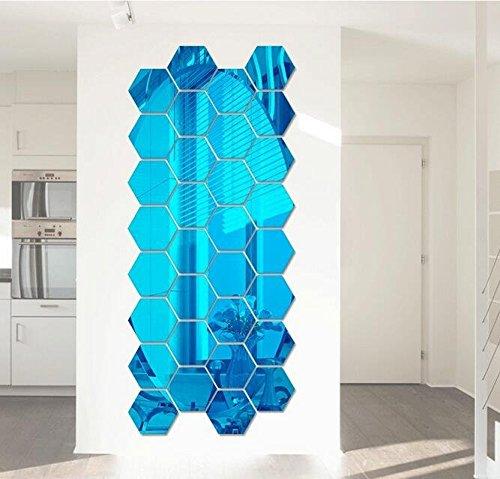Yacool--12-piezas-de-moderno-etiqueta-de-la-pared-de-DIY-3D-acrlico-panal-hexagonal-del-espejo-para-el-hogar-y-la-oficina