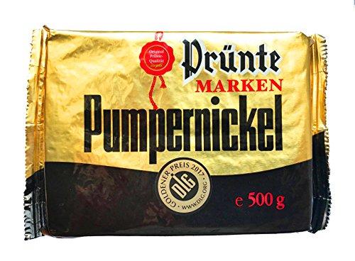 Westfälischer Pumpernickel / Schwarzbrot PRÜNTE MARKEN PUMPERNICKEL (125 g / 250 g / 500 g) GRÖSSE FREI WÄHLBAR (500 Gramm)