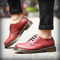 6cdf61bd6a9ed LOVDRAM Zapatos De Cuero para Hombre 46 Yardas Zapatos De Negocios Zapatos  Casuales Zapatos Bajos para