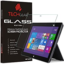 Techgear® Microsoft Surface 2 (10.6 pulgadas) Glass Edition Genuine Tempered Glass Screen Protector Guard Cover