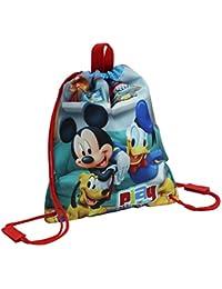 Disney Mickey Play Mochila Infantil, 1.5 Litros, Color Rojo