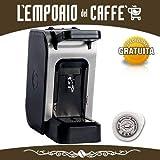 Offerta SPINEL CIAO Grigia Macchina da Caffè a cialde ESE 44mm filtro carta + kit assaggio Emporio del Caffè