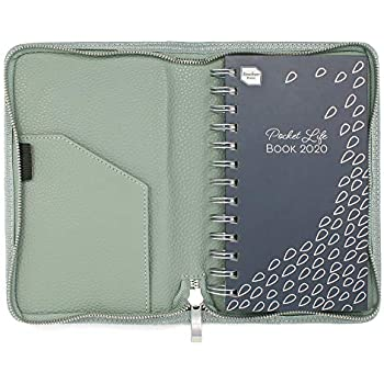 2020 A5 Monthly Index Page Organiser Diary DAP Padded with Magnetic Clip