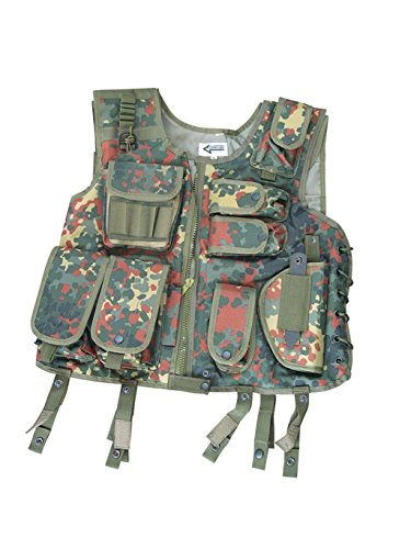 Commando-Industries Taktische SWAT I Weste Tactical West Paintballweste Softair verschiedene Farben Gr. M-XXL