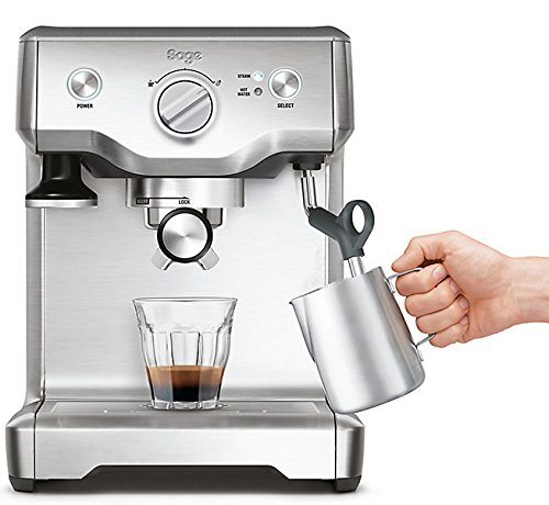 Sage-by-Heston-Blumenthal-the-Duo-Temperature-Pro-Coffee-Machine-1700-W-Silver
